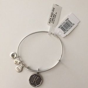 Alex and Ani K initial bracelet